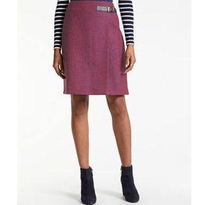 BODEN Faye tweed skirt size 8